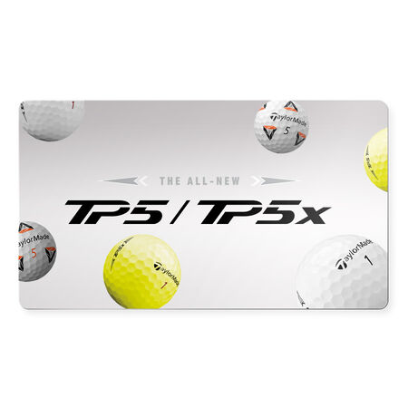 Digital Gift Card Golf Balls