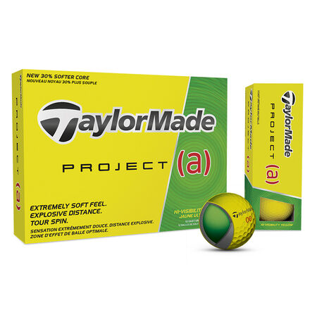 Yellow Project (a) Golf Balls
