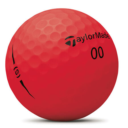Project (s) Matte Red Golf Balls