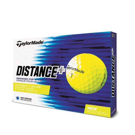 Distance+ Yellow Golf Balls