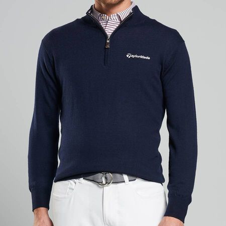 Crown Soft Quarter-Zip Sweater