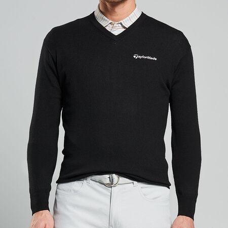 Crown Soft V-Neck Sweater