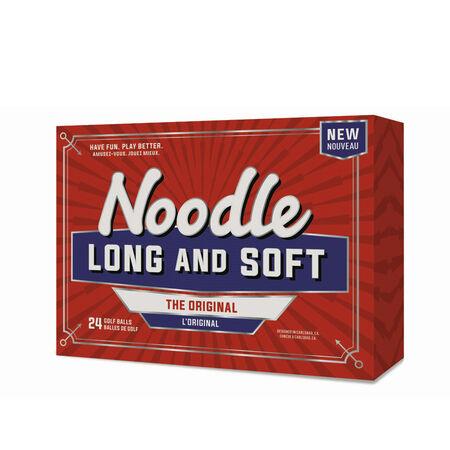Noodle Long & Soft Golf Balls (24 ball pack)