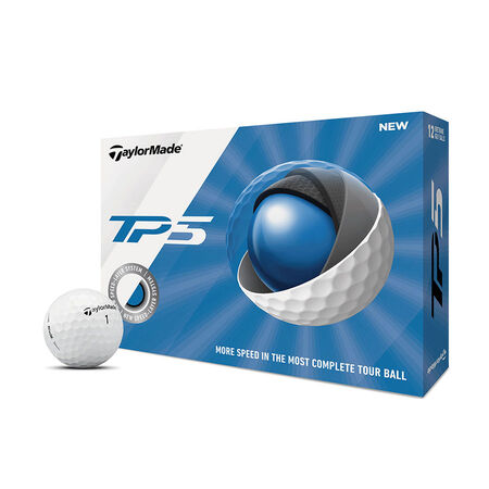 TP5 St. Johns Red Storm Golf Balls