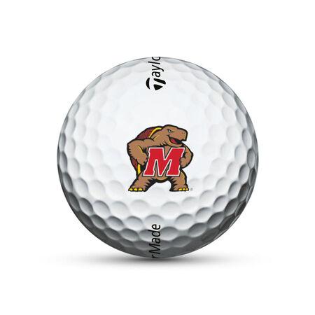 TP5x Maryland Terrapins Golf Balls