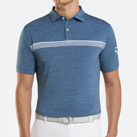 Engineered Stripe Jersey Polo
