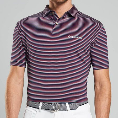 Double Stripe 2 Stretch Jersey Polo