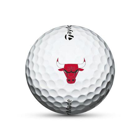 Chicago Bulls TP5x Golf Balls