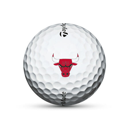 Chicago Bulls TP5x Golf Balls