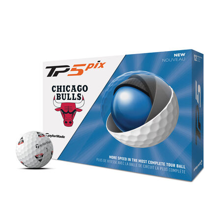TP5 pix Chicago Bulls Golf Balls