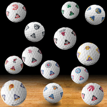 TP5 pix NBA Golf Balls