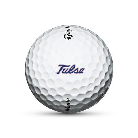 Tulsa Golden Hurricane TP5x Golf Balls