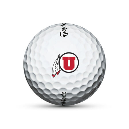 Utah Utes TP5 Golf Balls