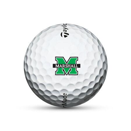 Marshall Thundering Herd TP5x Golf Balls