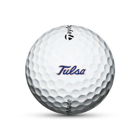 Tulsa Golden Hurricane TP5 Golf Balls