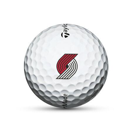 Portland Trail Blazers TP5 Golf Balls