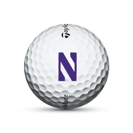 Northwestern Wildcats TP5 Golf Balls