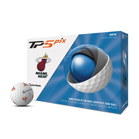 TP5 pix Miami Heat  Golf Balls