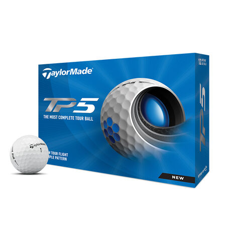 West Virginia Mountaineers TP5 Golf Balls