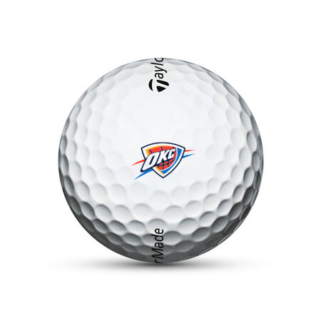 Oklahoma City Thunder TP5x Golf Balls