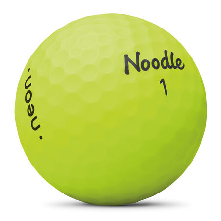 Noodle Neon Matte Lime Green Golf Balls