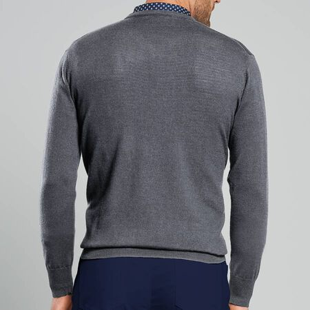 Crown Soft V-Neck Sweater