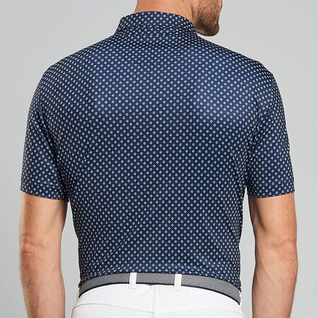Print Stretch Jersey Polo