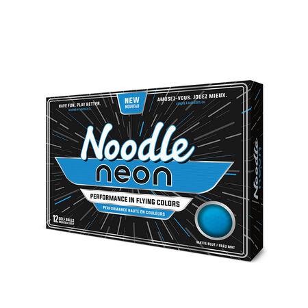 Noodle Neon Matte Blue Golf Balls