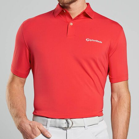 Solid Stretch Jersey Polo
