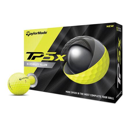 TP5x Yellow Golf Balls