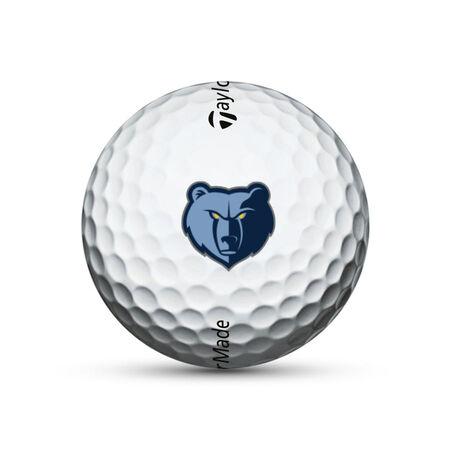 Memphis Grizzlies Tour Response Golf Balls