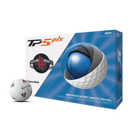 TP5 pix Houston Rockets Golf Balls