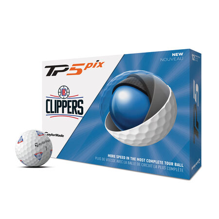 TP5 pix LA Clippers Golf Balls