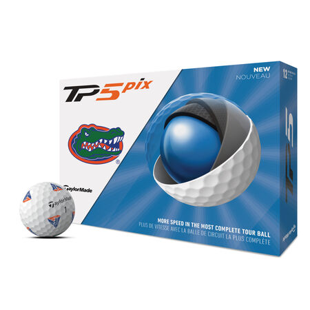 TP5 pix Florida Gators Golf Balls