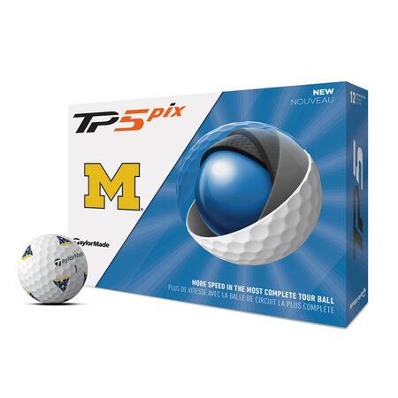 TP5 pix Michigan Wolverines Golf Balls