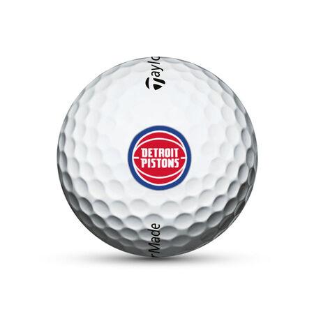 Detroit Pistons TP5x Golf Balls