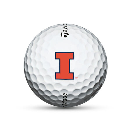 Illinois Fighting Illini TP5x Golf Balls