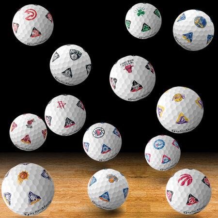 TP5 pix NBA Golf Balls