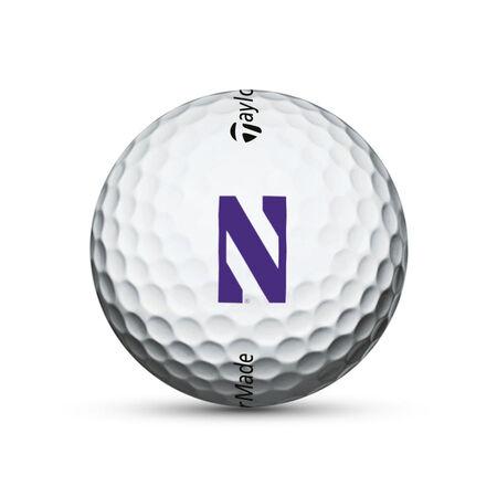 Northwestern Wildcats TP5 Golf Balls