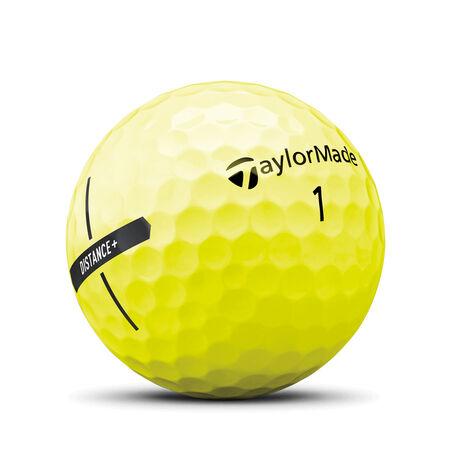 Distance+ Yellow Golf Balls