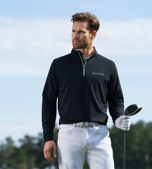 Peter Millar 3 quarter zip up pullover