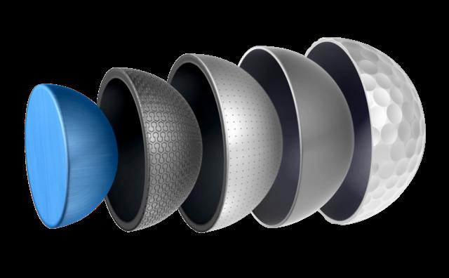 5 Layer Ball Construction