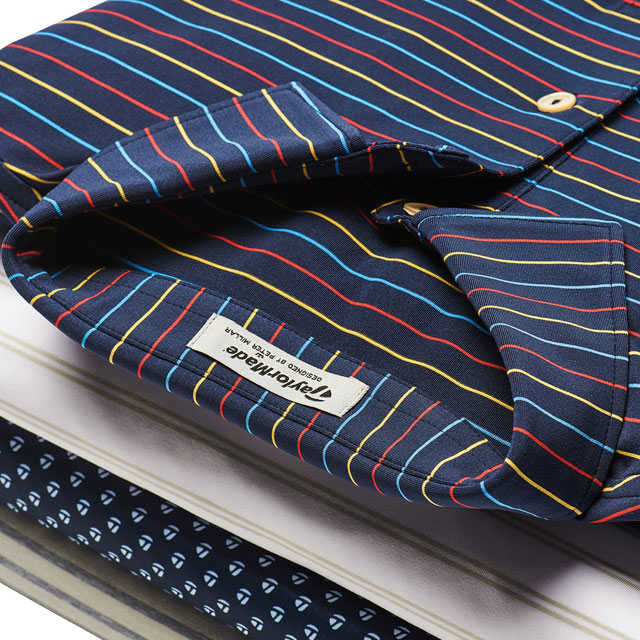 Peter Millar stripped shirt