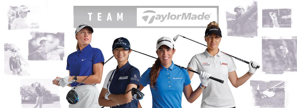 Team TaylorMade womens banner