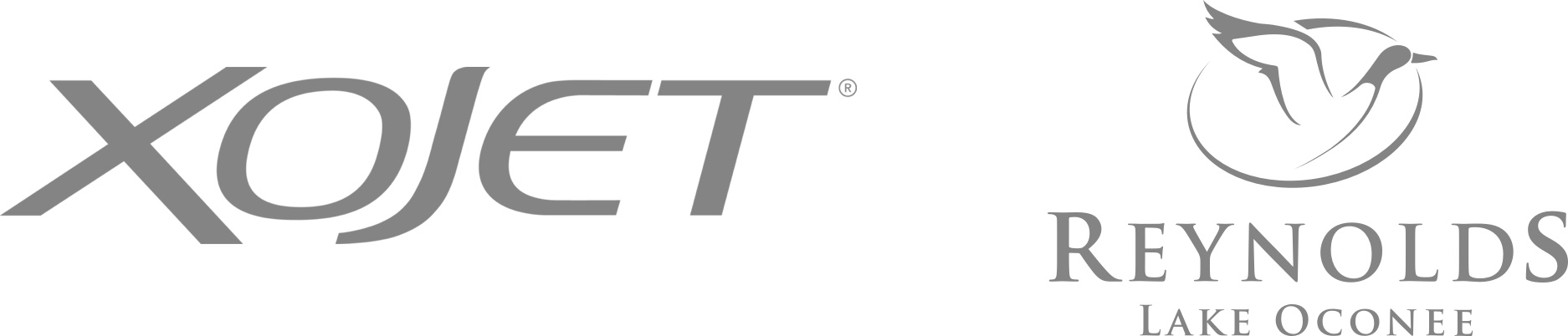 XOJET and Reynolds Lake Oconee logos