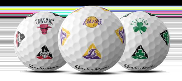 TaylorMade TP5 pix NBA golf balls