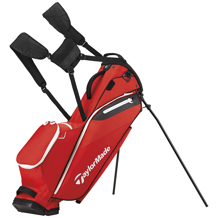 Image result for TaylorMade FlexTech Lite Stand Bag red