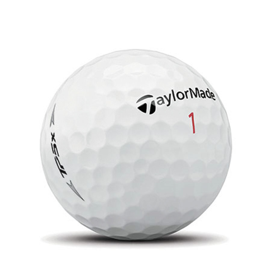 the taylormade tp5x golf ball has 322 dimples