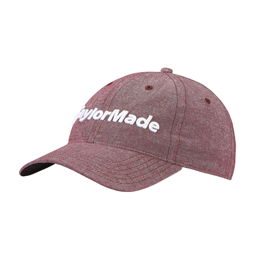 Taylormade Golf Tradition Lite Heather Hat | Cardinal